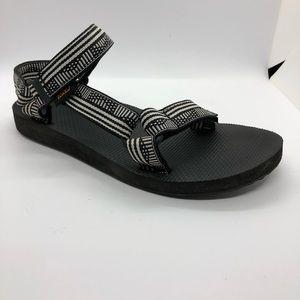 Teva Women's Universal Sandal Campo Black/White